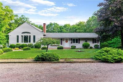 Coventry Single Family Home For Sale: 804 Whaley Hollow Rd