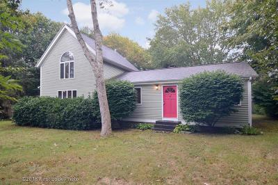 Westerly Single Family Home For Sale: 37 Verdi Rd