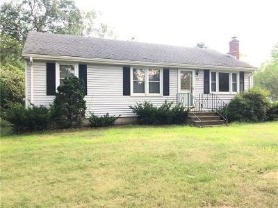 South Kingstown Single Family Home For Sale: 762 Waites Corner Rd