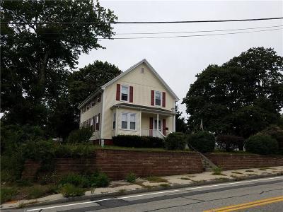 Lincoln Single Family Home For Sale: 1490 Smithfield Av