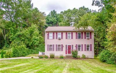Burrillville Single Family Home For Sale: 1060 Mount Pleasant Rd