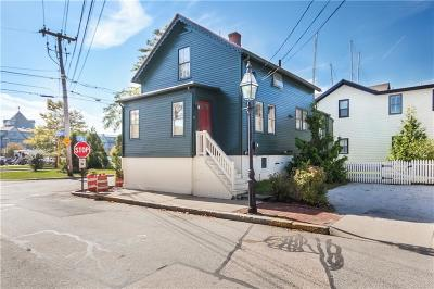 Newport Single Family Home For Sale: 6 Second St