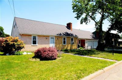 East Providence Single Family Home For Sale: 94 Plymouth Rd