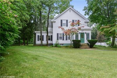 Coventry Single Family Home For Sale: 167 Fairview Av