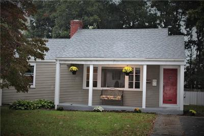 Coventry Single Family Home For Sale: 22 Raymond St