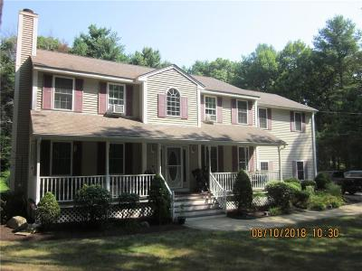 West Greenwich Single Family Home For Sale: 289 Robin Hollow Rd