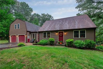 Burrillville Single Family Home For Sale: 245 Smith Hill Rd