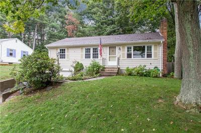 North Kingstown Single Family Home Act Und Contract: 63 Brookside Dr