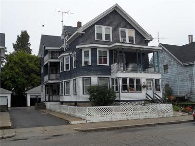 Woonsocket Multi Family Home For Sale: 92 Park Pl