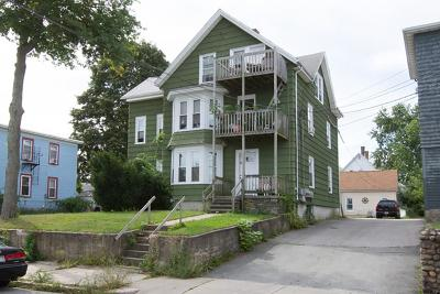 Woonsocket Multi Family Home For Sale: 206 Dulude Av