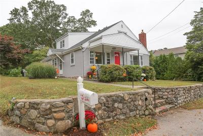 Westerly Single Family Home For Sale: 9 Wayland St