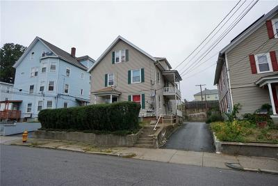 Central Falls Multi Family Home For Sale: 139 Chestnut St