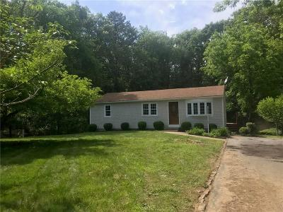 Coventry Single Family Home For Sale: 47 Clark Mill St