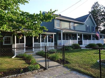 Coventry Single Family Home For Sale: 580 Old Main St