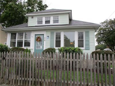 Smithfield Single Family Home For Sale: 72 Dean Av