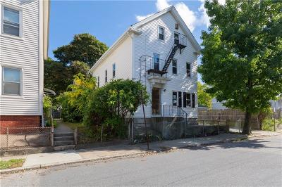 Providence RI Multi Family Home For Sale: $109,000