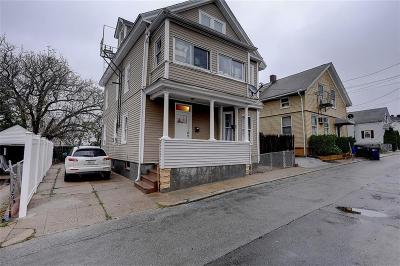 Providence RI Multi Family Home For Sale: $209,000