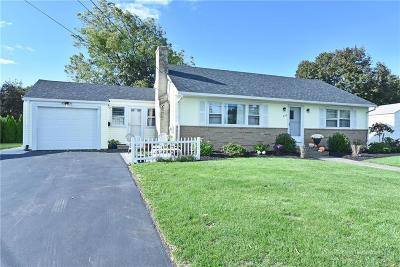 Cranston Single Family Home For Sale: 284 Poplar Dr