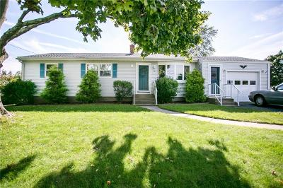 Middletown Single Family Home For Sale: 28 Squantum Dr