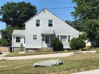 North Providence RI Single Family Home For Sale: $209,900