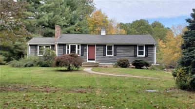 North Smithfield Single Family Home For Sale: 290 Rocky Hill Rd