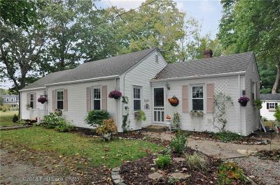 Bristol County Single Family Home For Sale: 251 Sowams Rd