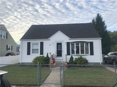 Pawtucket Single Family Home For Sale: 170 Baxter St