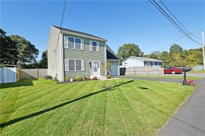 Pawtucket RI Single Family Home For Sale: $359,900