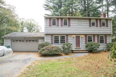 Scituate Single Family Home For Sale: 12 Peeptoad Rd