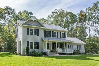 West Greenwich Single Family Home For Sale: 100 John Potter Rd