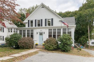 North Smithfield Single Family Home Act Und Contract: 199 Great Rd