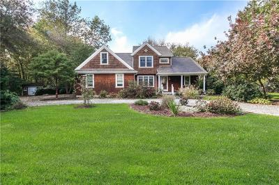 Charlestown Single Family Home For Sale: 37 Pond Shore Rd