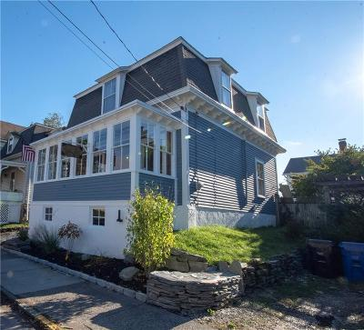 Newport Single Family Home Act Und Contract: 12 Pond Av