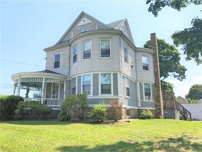 East Providence Multi Family Home Act Und Contract: 205 Waterman Av