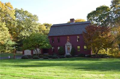 Scituate Single Family Home Act Und Contract: 45 Deerfield Dr