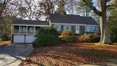 Scituate Single Family Home For Sale: 92 Moswansicut Lake Dr