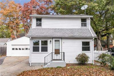 Warwick RI Single Family Home For Sale: $225,000