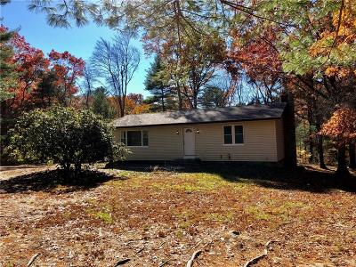 Exeter Single Family Home For Sale: 97 Black Plain Rd