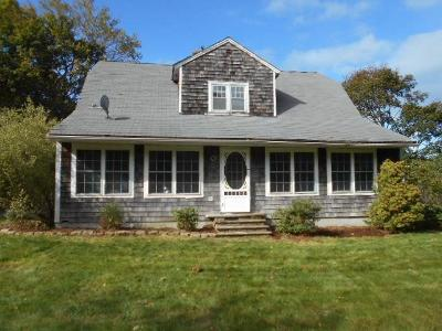 Single Family Home For Sale: 52 Staples Rd