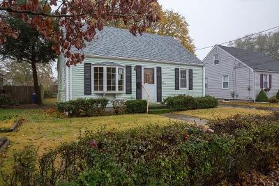 Pawtucket Single Family Home For Sale: 57 Lindesta Rd
