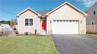 Cranston Single Family Home For Sale: 28 Elmhurst Av