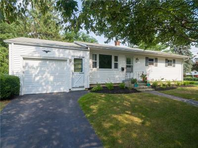 West Warwick Single Family Home For Sale: 32 Tampa St