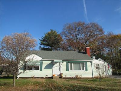 North Kingstown Single Family Home For Sale: 335 Ten Rod Rd
