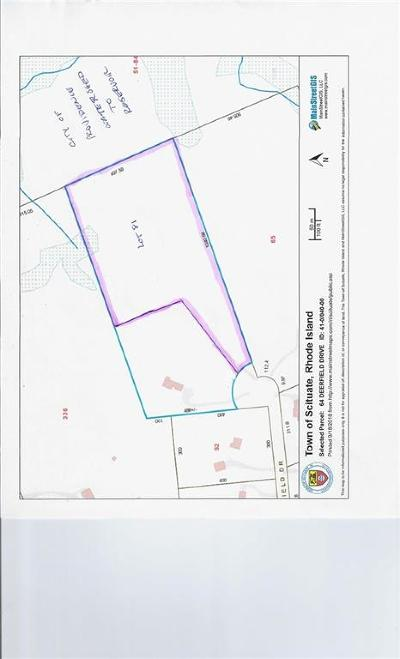 Scituate RI Residential Lots & Land For Sale: $185,000