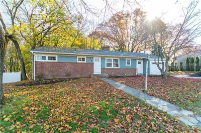 Cranston Single Family Home For Sale: 164 Whitewood Dr