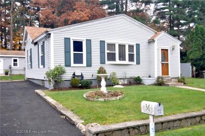 Coventry RI Single Family Home For Sale: $199,900