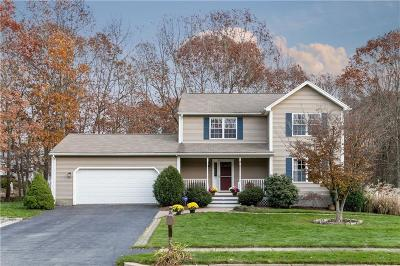 Coventry Single Family Home For Sale: 37 Ginger Trl