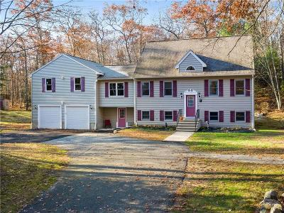 Glocester Single Family Home For Sale: 150 George Allen Rd