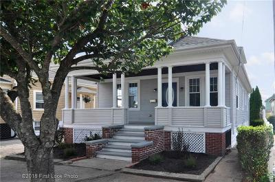 East Providence Single Family Home For Sale: 82 Ingraham St