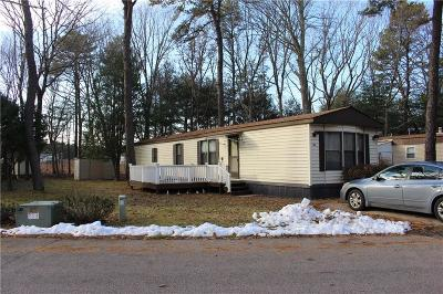 Coventry Single Family Home For Sale: 36 Leisure Wy